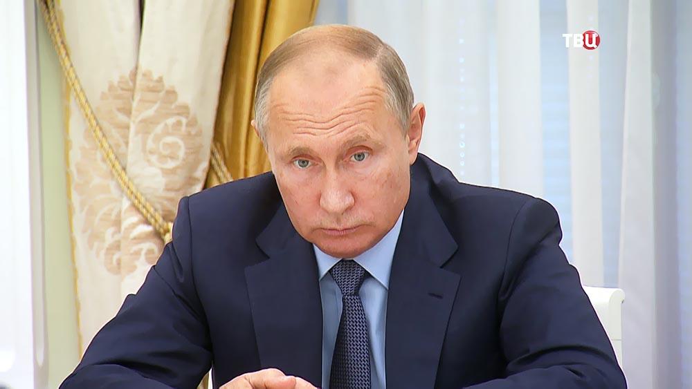 Задумчивый Владимир Путин