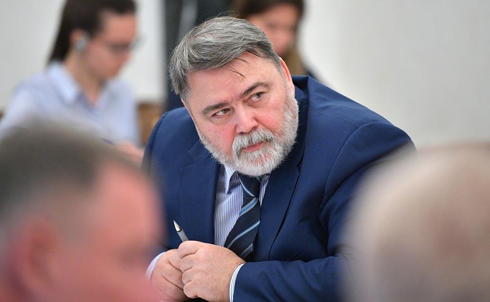 Руководитель ФАС Игорь Артемьев на совещании с членами Правительства
