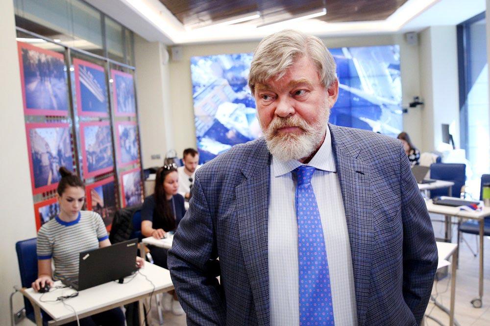 Глава предвыборного штаба Сергея Собянина, главный редактор «Независимой газеты» Константин Ремчуков