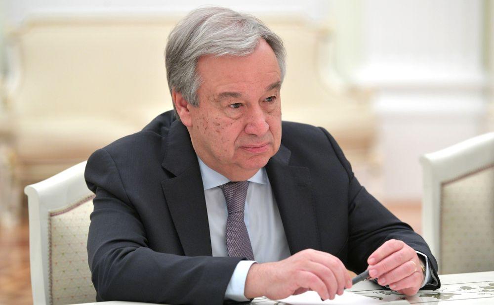 Генсек ООН Антониу Гутерриш