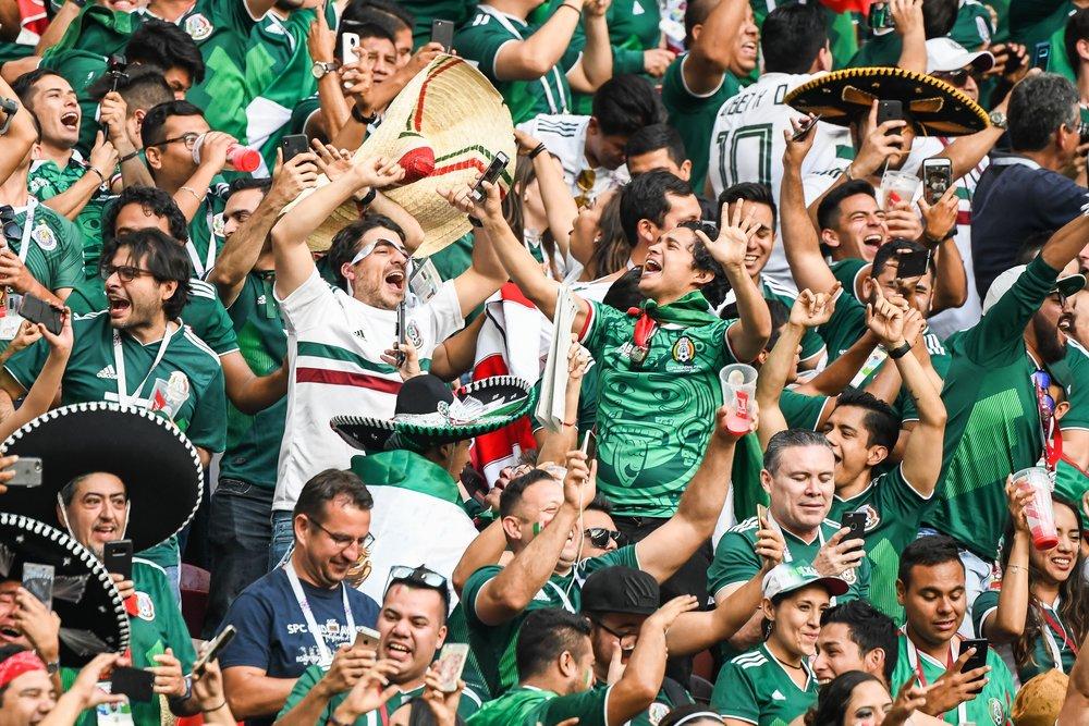 Болельщики Мексики