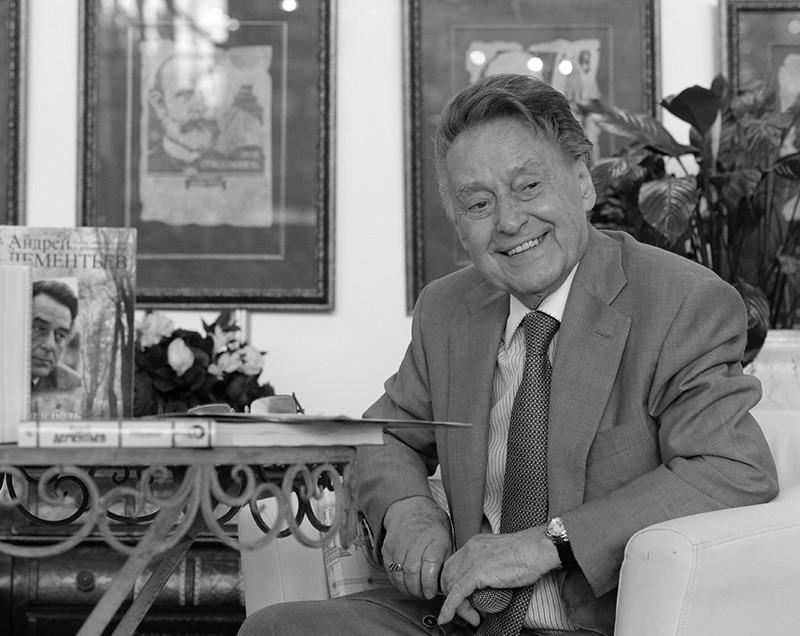 Поэт, заслуженный деятель искусств России Андрей Дементьев