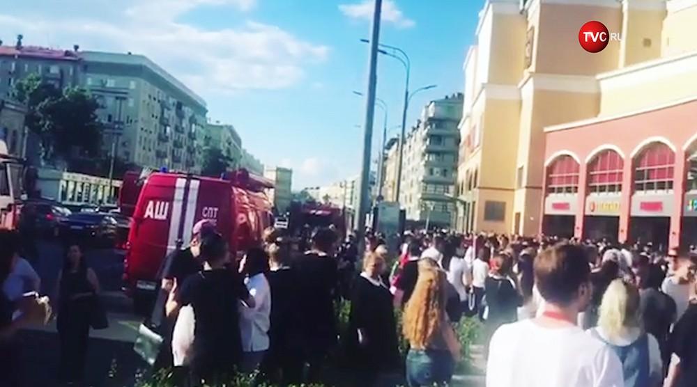 """Пожар в ТЦ """"Атриум"""""""