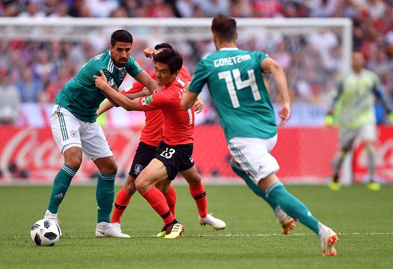Футбол. ЧМ-2018. Матч Республика Корея - Германия