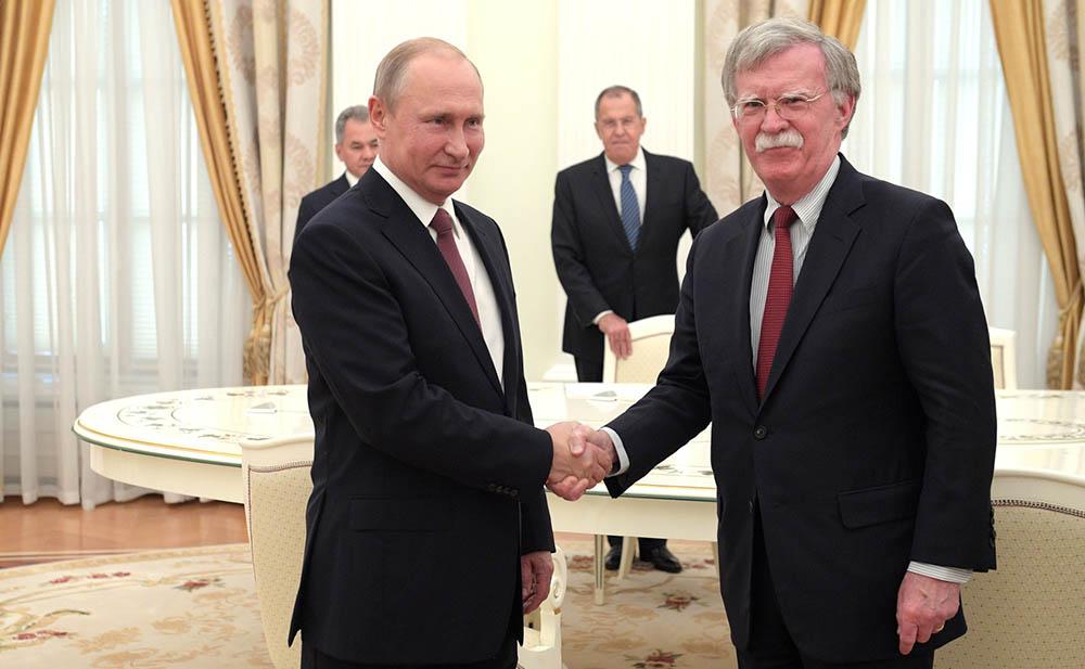 Встреча с советником президента США по нацбезопасности Джоном Болтоном