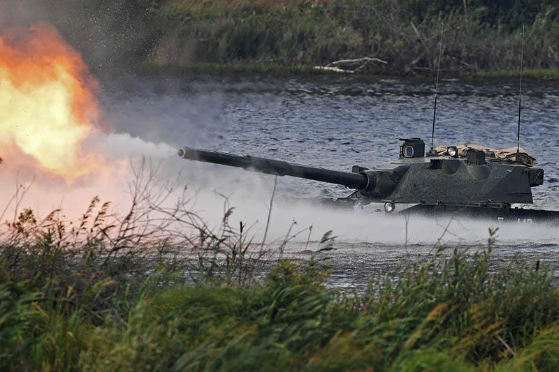 "Авиадесантная самоходная противотанковая пушка ""Спрут-СД"""