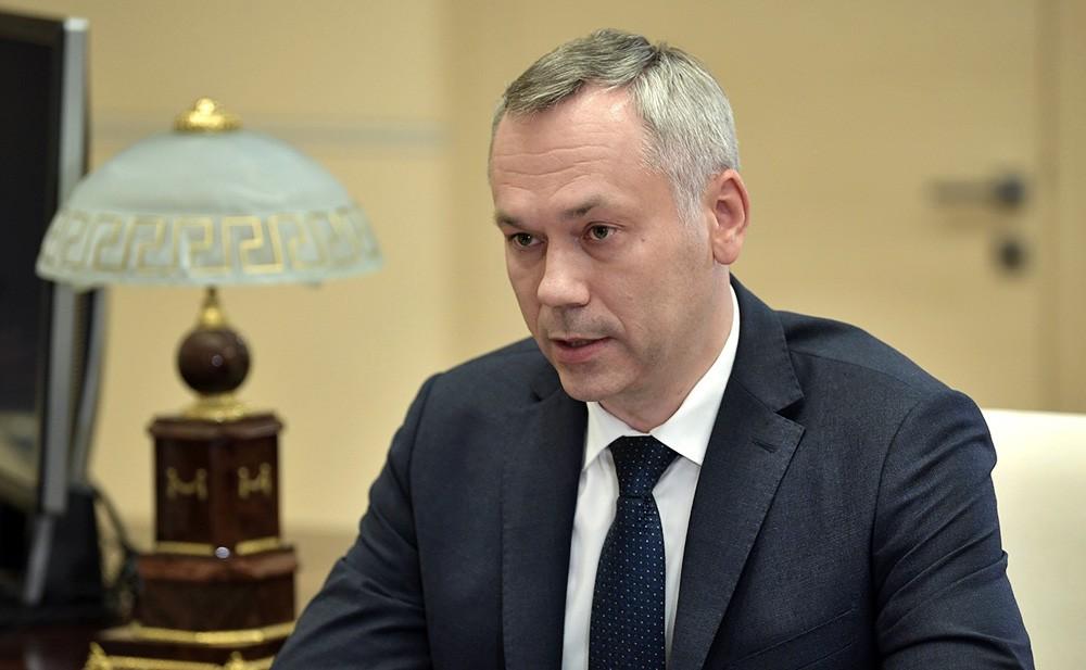 Врио губернатора Новосибирской области Андрей Травников