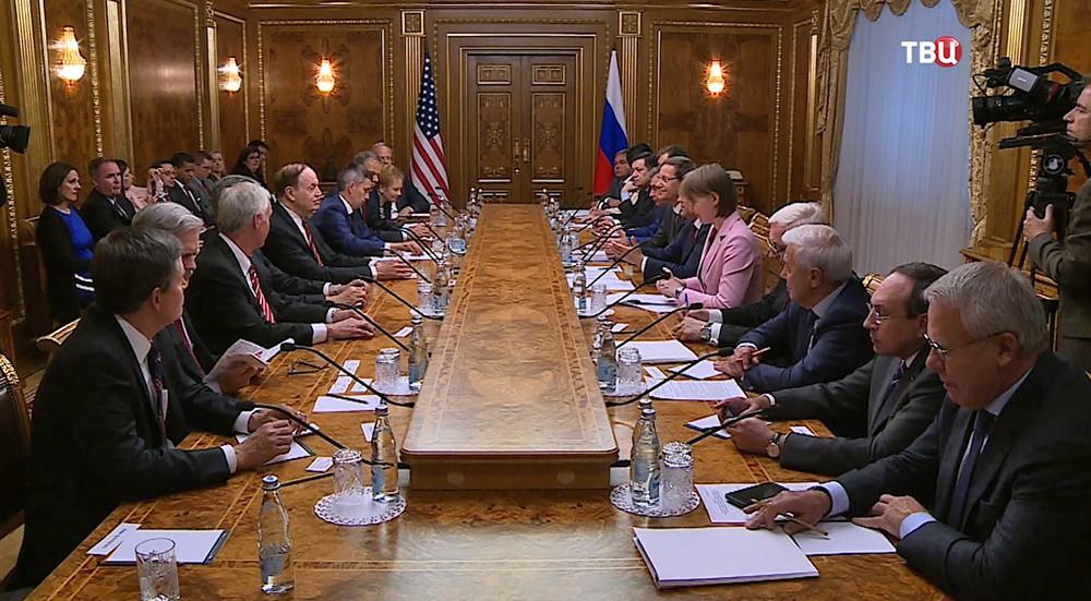 Делегацией Конгресса США в Госдуме Российской Федерации