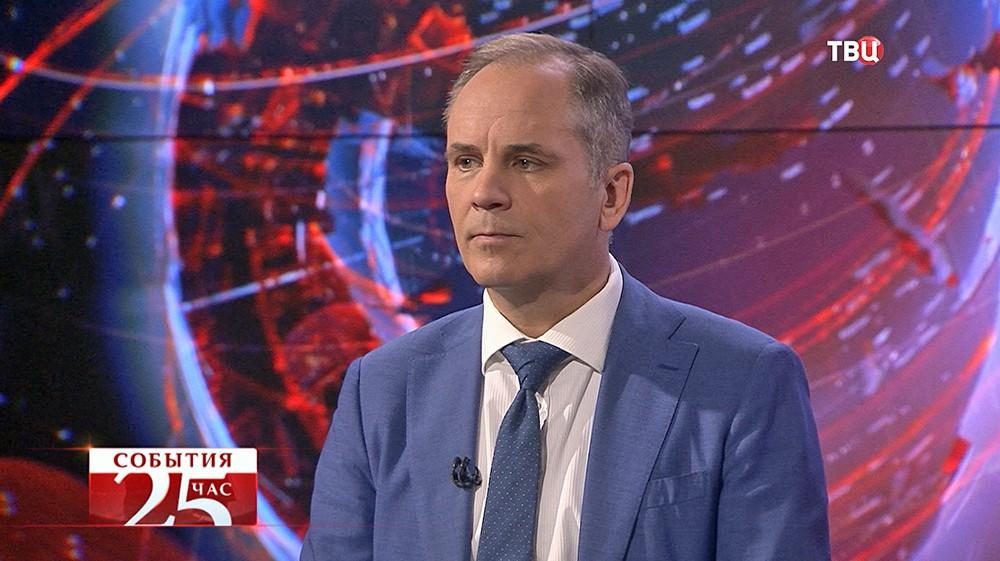 Антон Уткин, эксперт по химическому оружию, инспектор ООН в Ираке в 1994 г