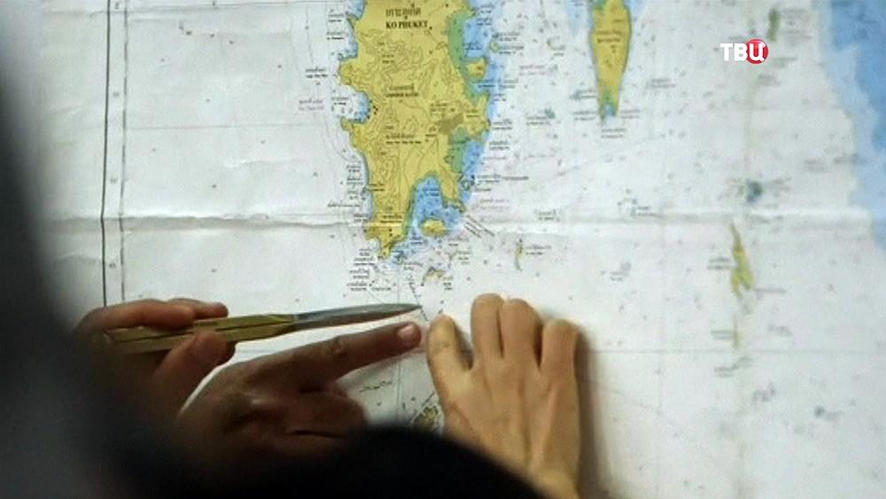 Поисковая операция в Таиланде