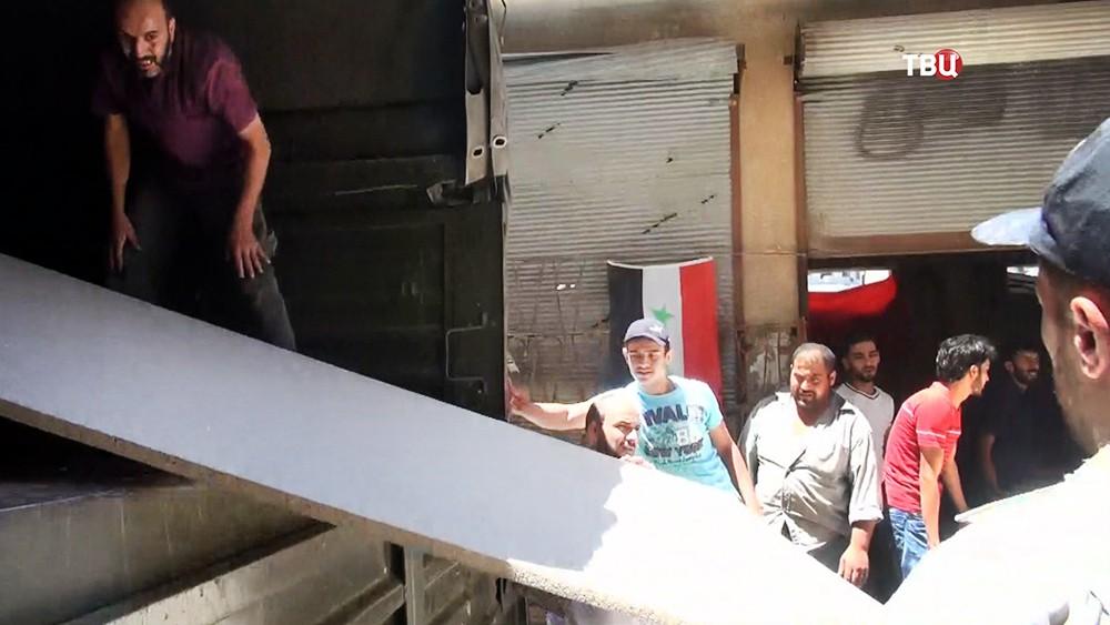 Восстановление сирийских зданий после войны
