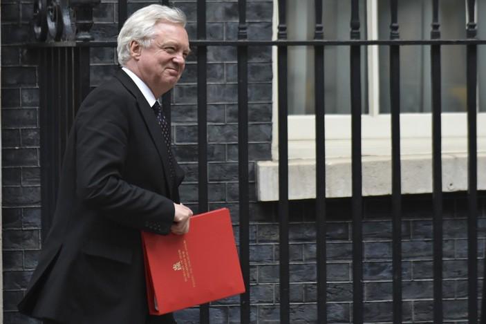 Бывший министр Великобритании по Brexit Дэвид Дэвис
