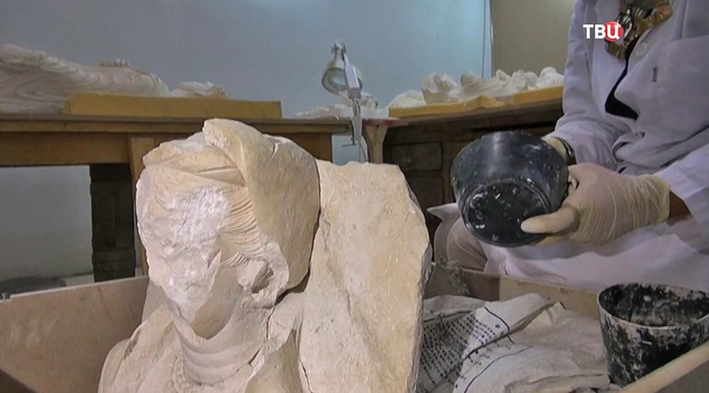 Восстановление скульптур из Пальмиры