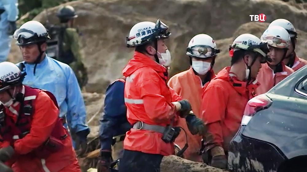 Спасатели Японии