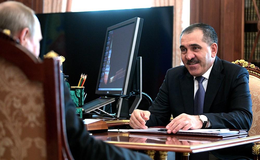 Глава Республики Ингушетии Юнус-Бек Евкуров