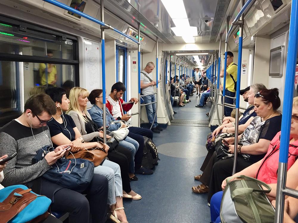 "Поезд метро ""Москва"""