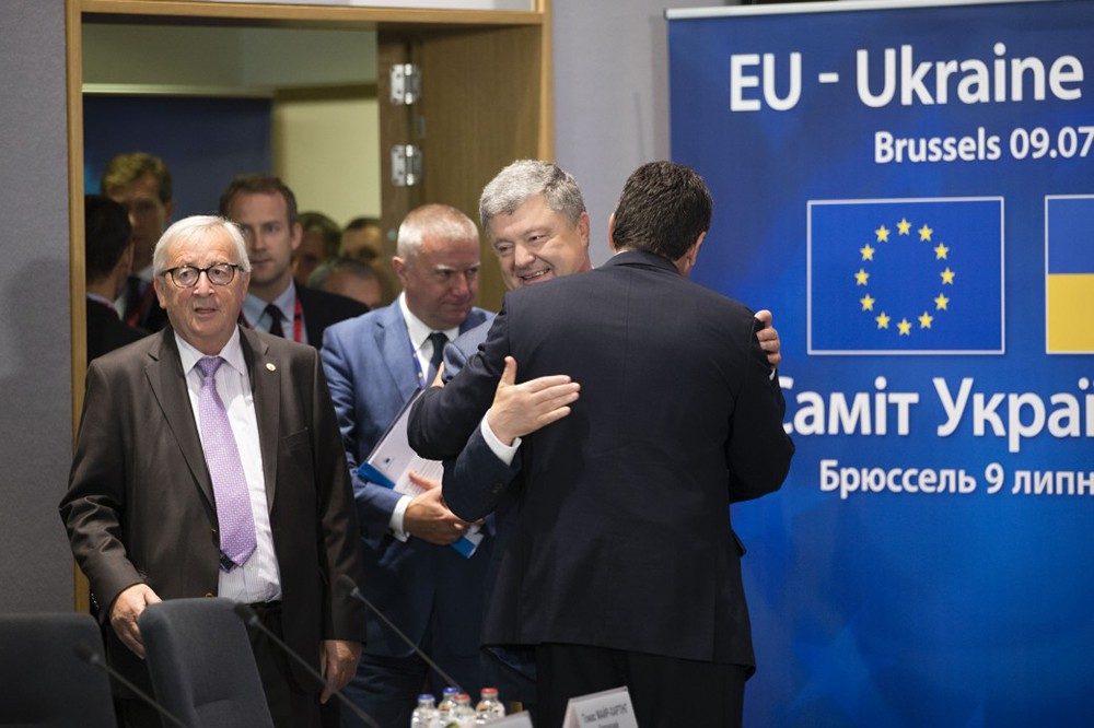 Пётр Порошенко на саммите ЕС-Украина