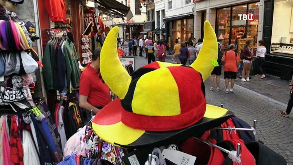 Сувенирная лавка в Брюсселе