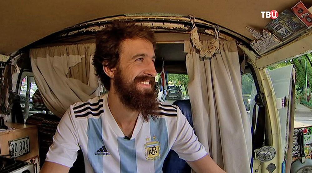 Аргентинский болельщик