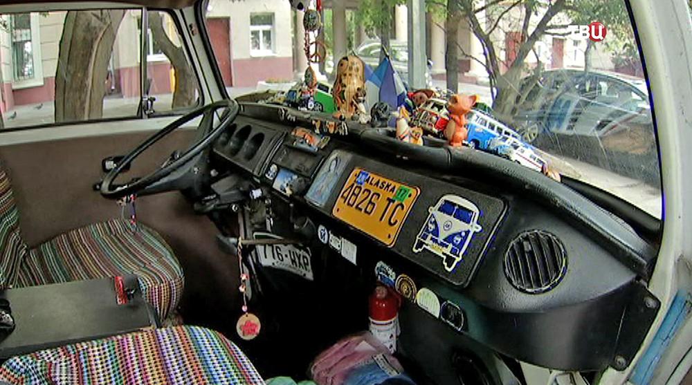 Машина аргентинского болельщика