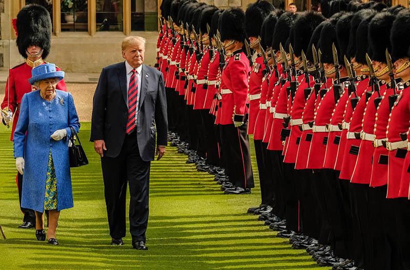 Визит Дональда Трампа в Великобританию