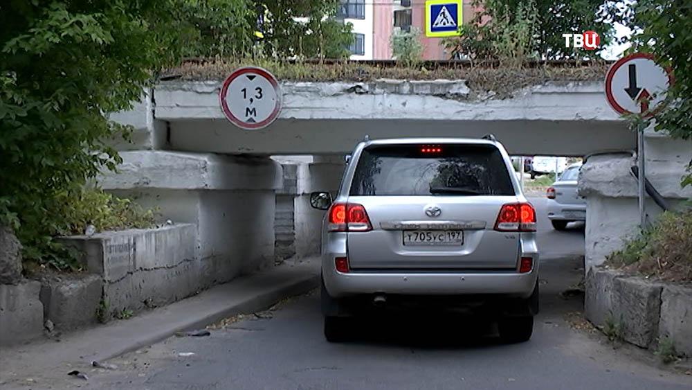 """""""мост глупости"""" в Москве"""