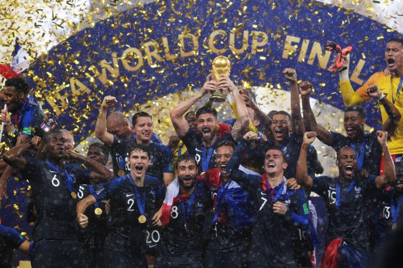 Сборная Франции — чемпион мира по футболу 2018 года