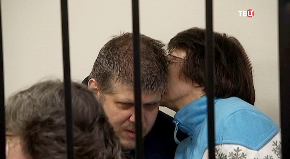 """Лидер секты Андрей Попов (""""бог Кузя"""")"""