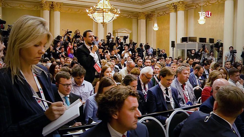 Пресс-конференция Владимира Путина и ДональдаТрампа