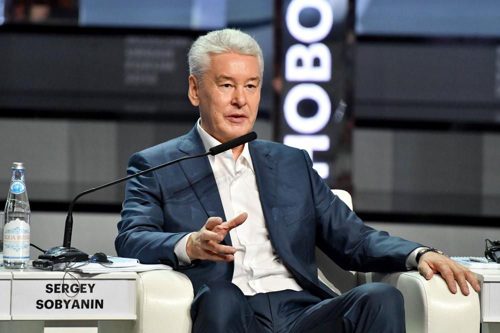 Сергей Собянин на открытии Московского урбанистического форума