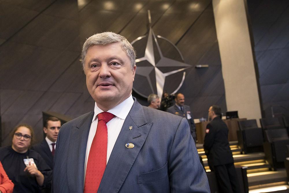 Пётр Порошенко на саммите НАТО