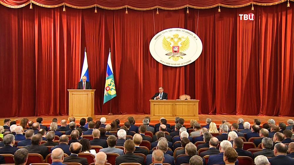 Совещание послов и постоянных представителей РФ