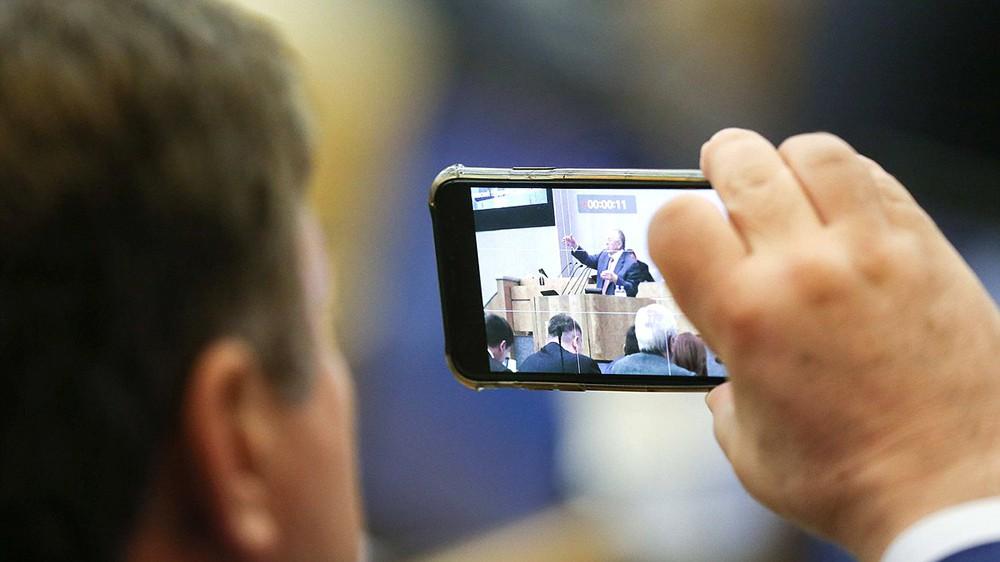 Выступление Владимира Жириновского в Госдуме