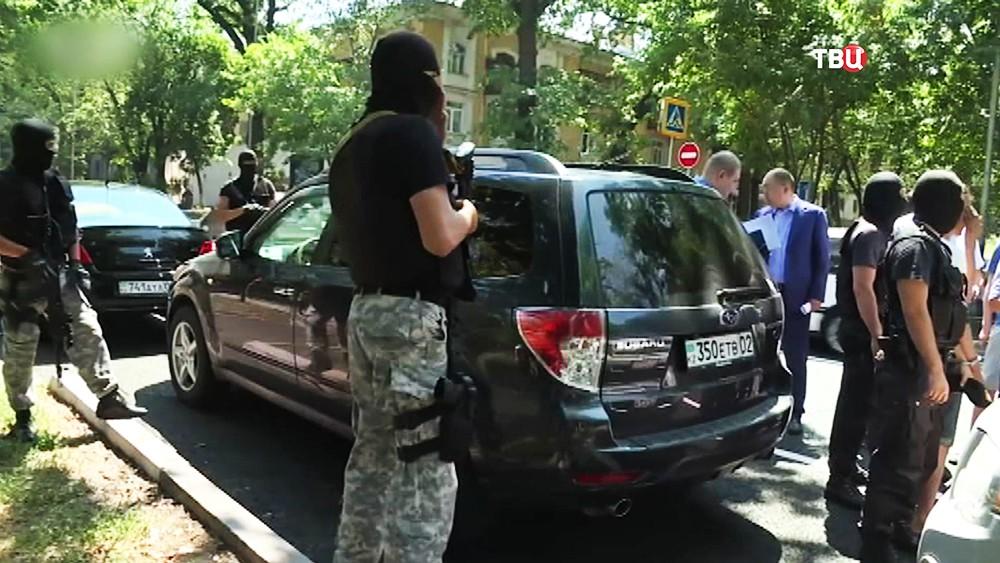 Место нападения на фигуриста Дениса Тена