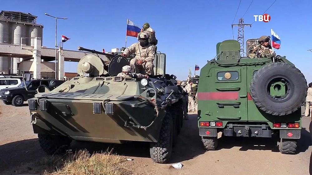 Военная полиция МР России в Сирии