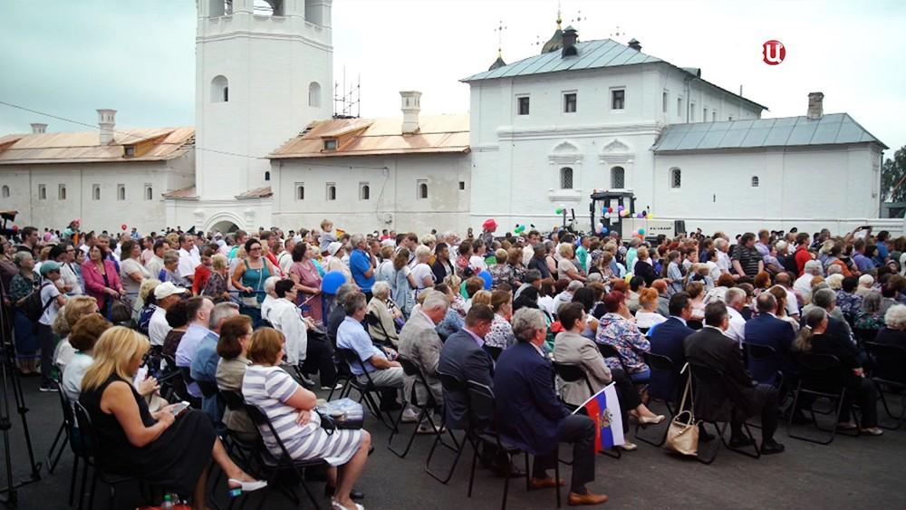 Жители города Гороховец