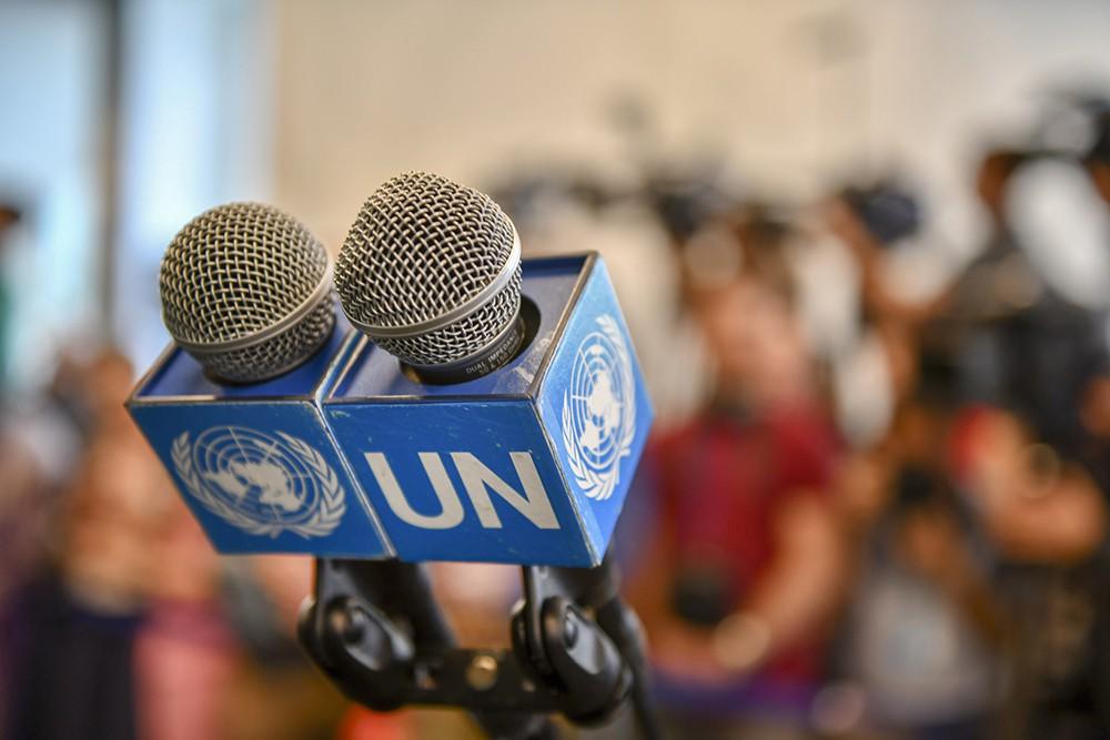 Выступление в ООН