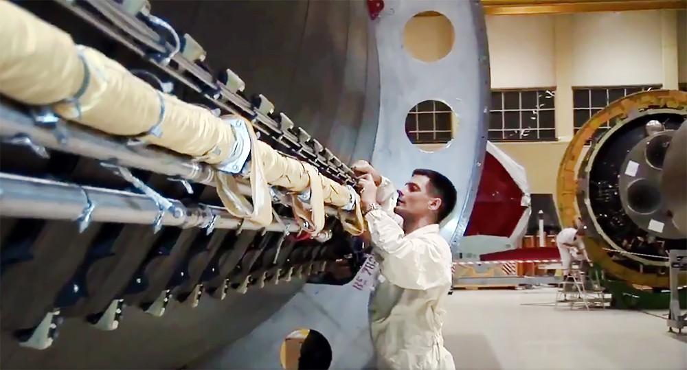 Цех по сборке ракет