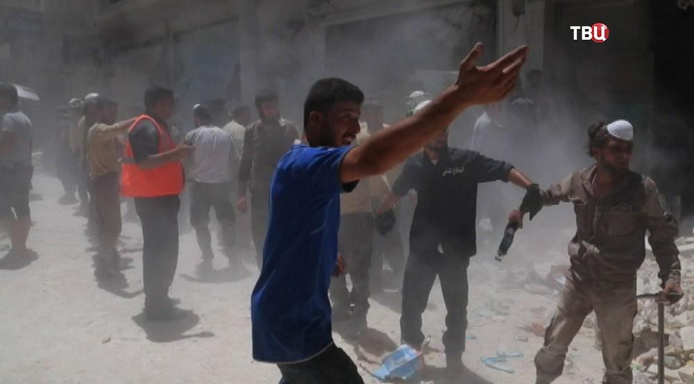 Спецоперация в Сирии