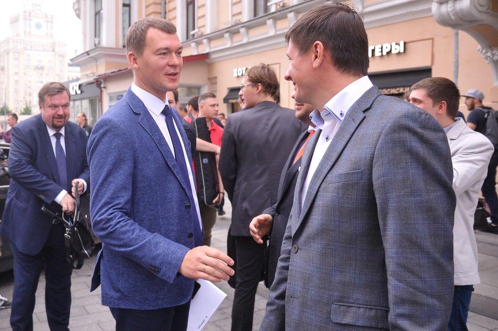 Кандидат на должность мэра Москвы Михаил Дегтярев
