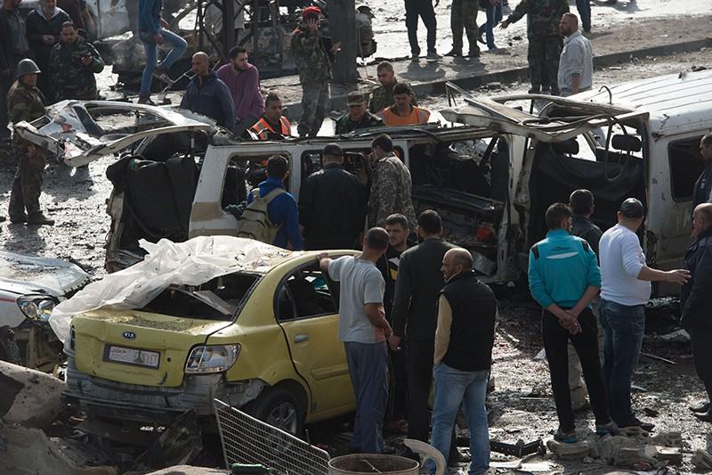 Теракт в Сирии