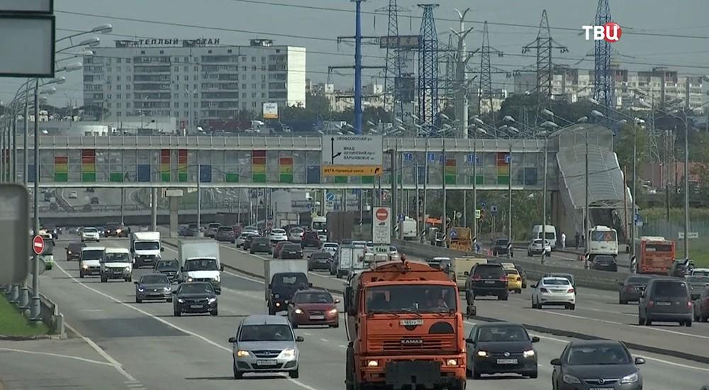 Открытие тоннеля на Калужском шоссе