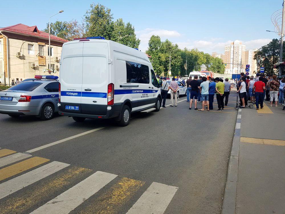Полиция ДПС на месте ДТП