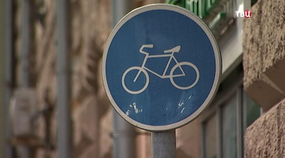 """Знак """"Велосипедная дорожка"""""""