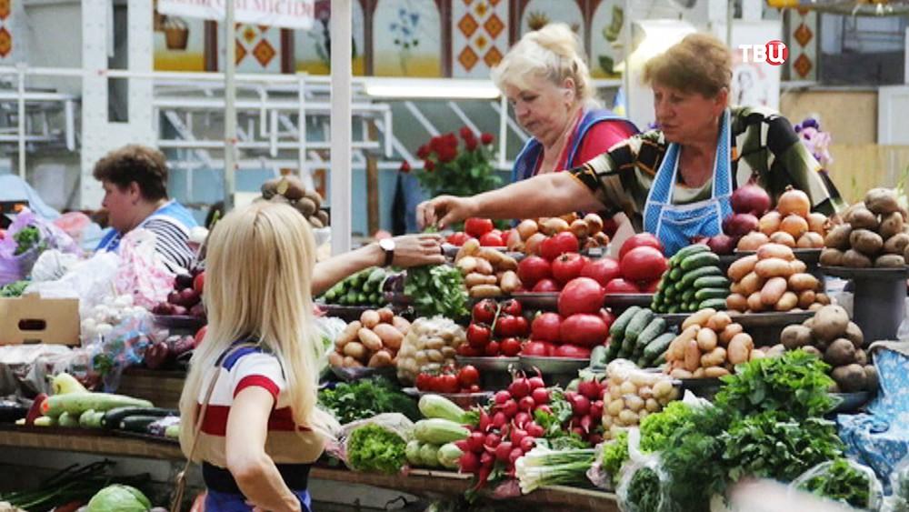 Рынок на Украине