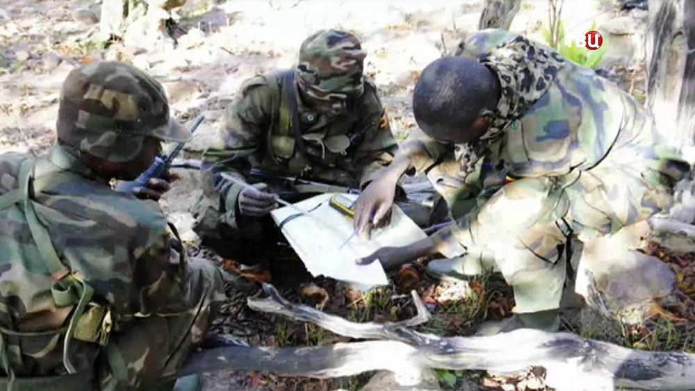 Военнослужащие армии ЦАР