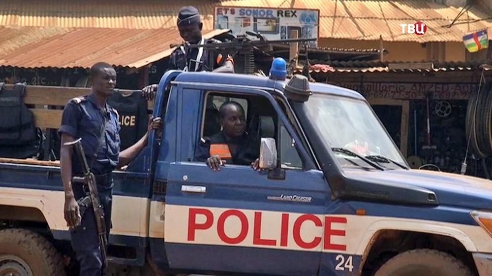 Полиция ЦАР