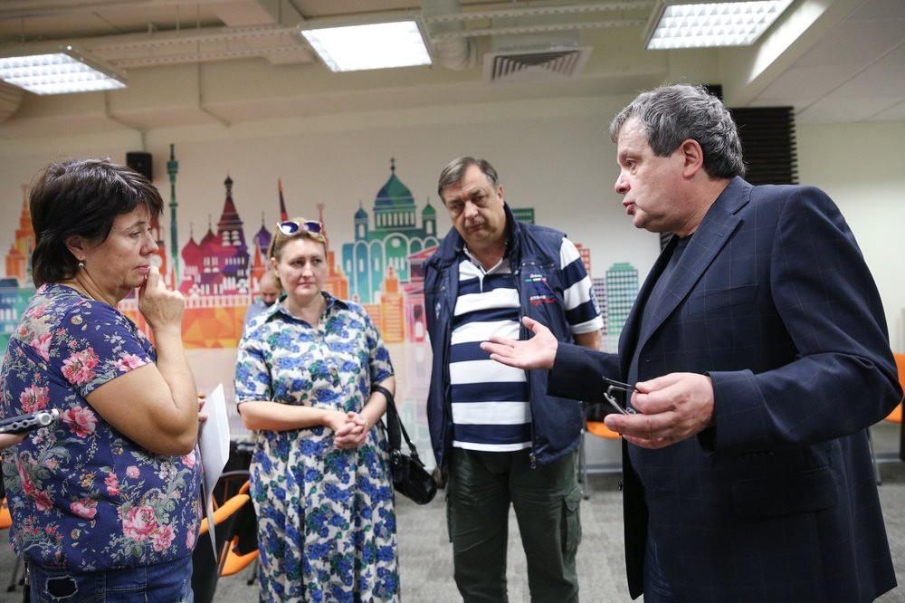 Встреча кандидата в мэры Москвы Михаила Балакина с предпринимателями