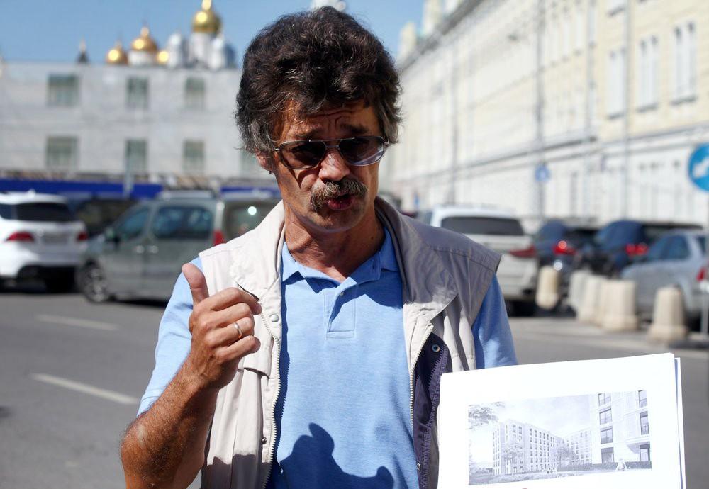 Эксперт штаба кандидата в мэры Москвы Ильи Свиридова Константин Михайлов