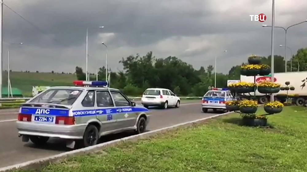 Полиция новокузнецка на месте происшествия
